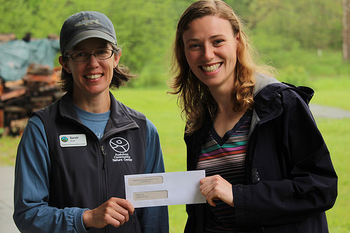 Heather Zimba Receives Audubon Community Nature Center Scholarship