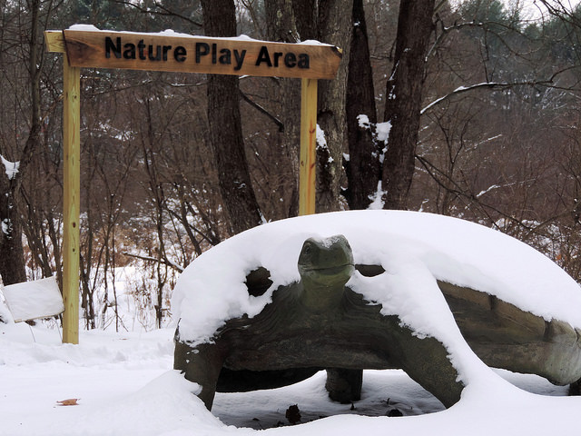 New Attraction at Audubon Nature Play Day on Saturday Morning, December 15