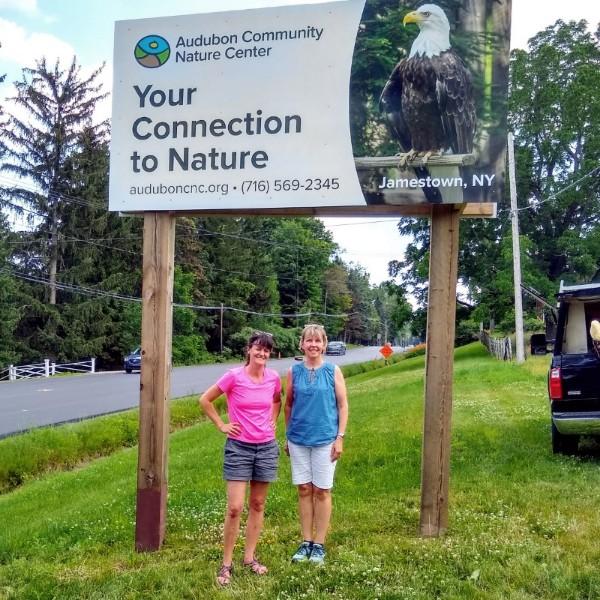 Audubon's New Billboard Features Liberty