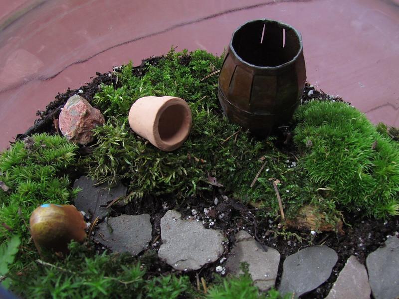 A Little World of Green by Sarah Hatfield