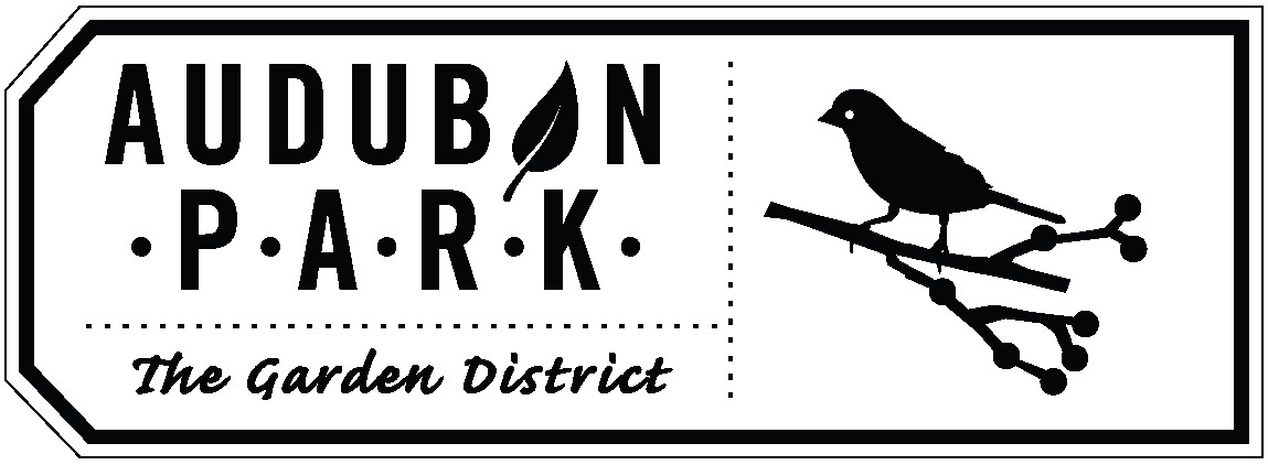 Audubon Park Garden District logo