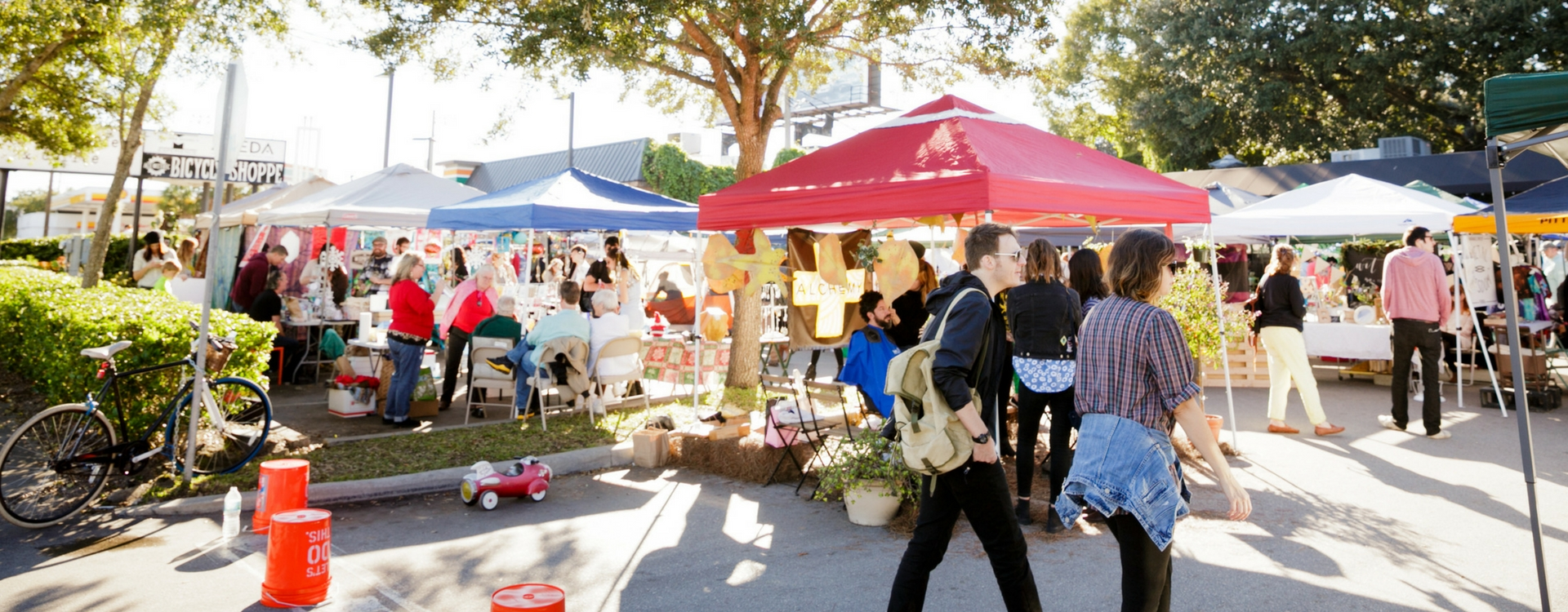 open air market at stardust