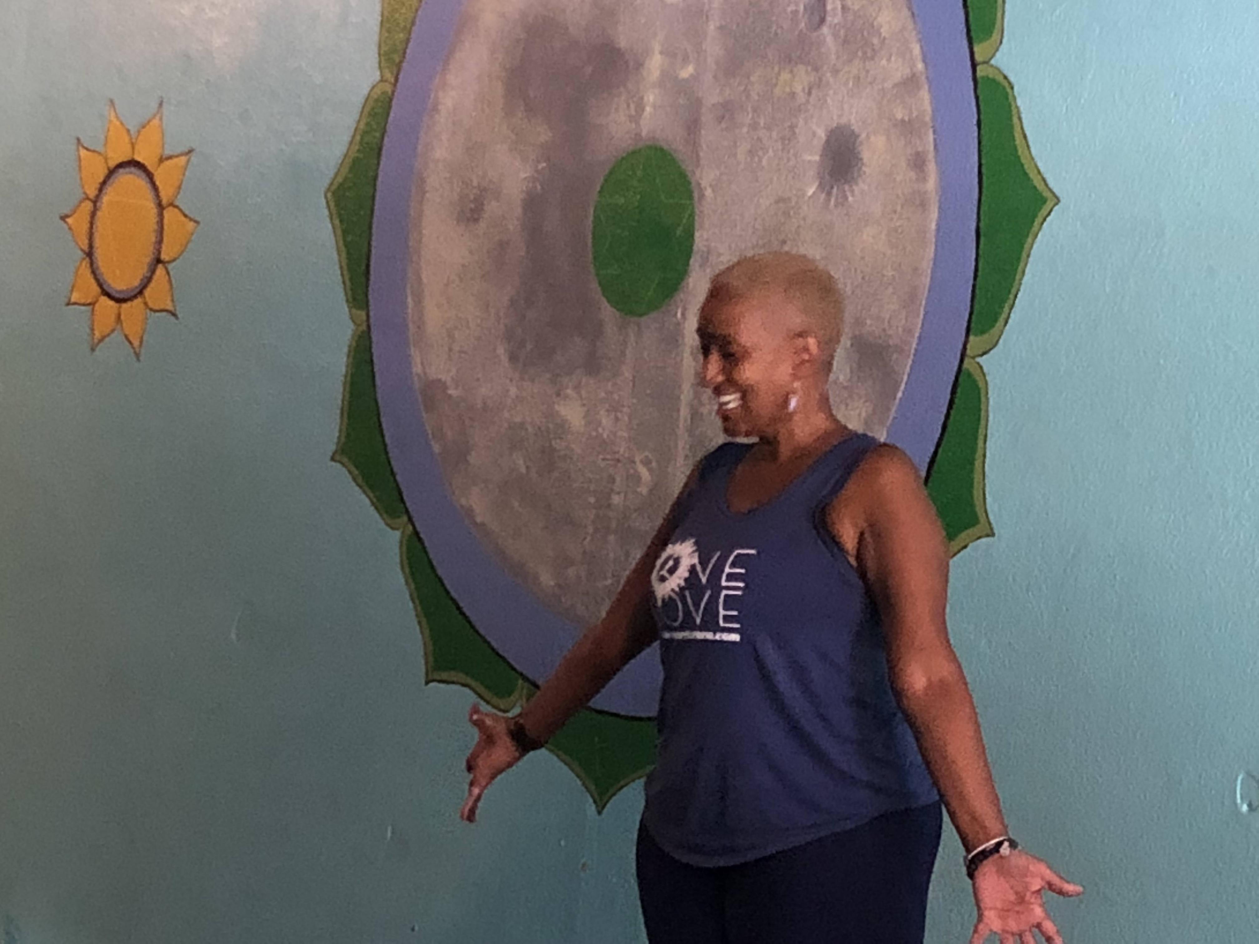 Warrior One Yoga and Row and Spin in the Audubon Park Garden District