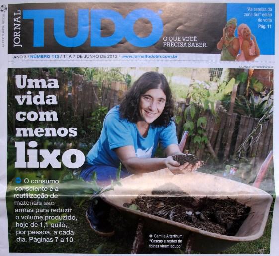 Lixo que vira adubo em Belo Horizonte