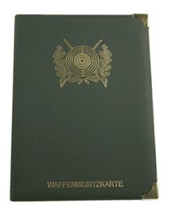 Waffenbesitzkarte Etui