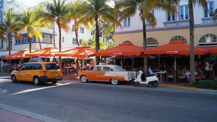 Frühbucher-Reisen zu den Art Deco Bauten in Miami Beach Ocean Drive