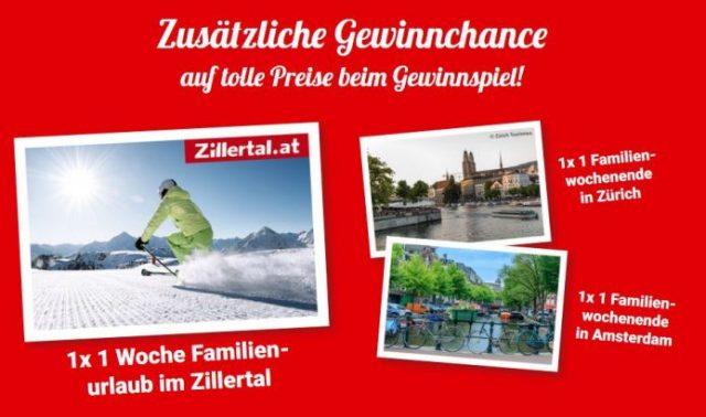 Hauptgewinn Nutella Bahnsinn - 10 Euro Bahn Gutschein
