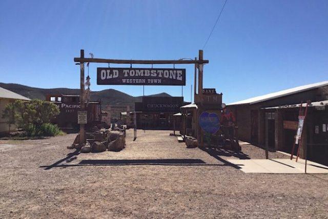 Tompstone in Arizona