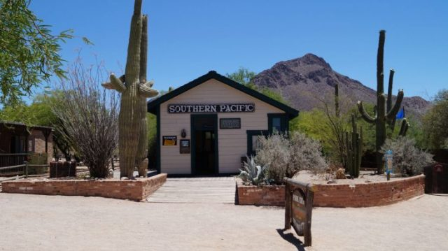 Southern Pacific Old Tucson
