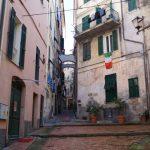 Italiens Reiseziele: Altstadt von Bordighera, Ligurien, Italien