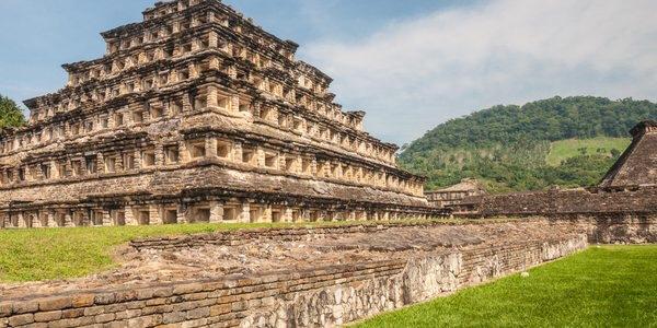 El Tajin - die Pyramide der Nischen in Veracruz  Mexiko