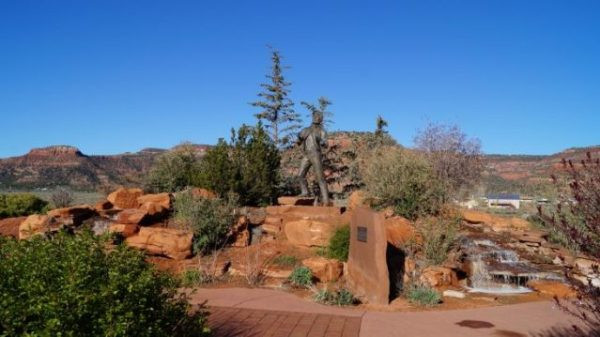 Levi Steward Memorial Park in Kanab