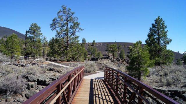 idyllisch angelegt: Sunset Crater Volcano Nationalmonument