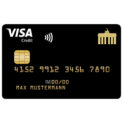 Deutschland-Kreditkarte – 30 Euro geschenkt und zahlreiche Rabatte