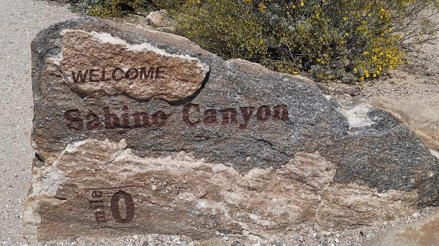 Sabino Canyon Recreation Area bei Tucson