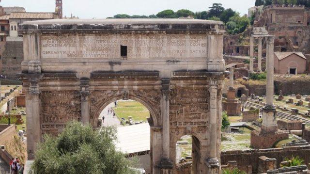 Forum Romanum - Blick
