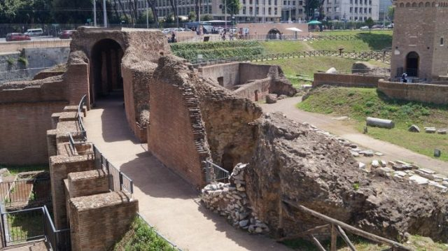 Ruinen des Circus Maximus