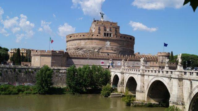 Engelsburg Engelsbrücke Rom