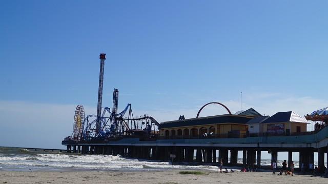 Vergnügungspark in Galveston