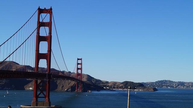 Golden Gate Bridge San Francisco, Süden der USA
