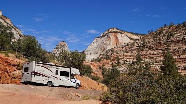 Rote Berge in Utah - mit dem Wohnmobil durch den Zion Nationalpark