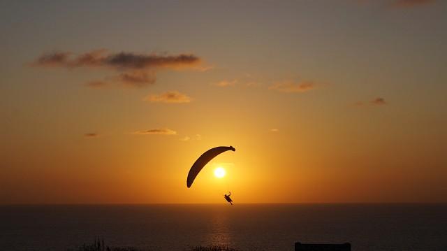 La Jolla, San Diego: Dem Sonnenuntergang entgegen