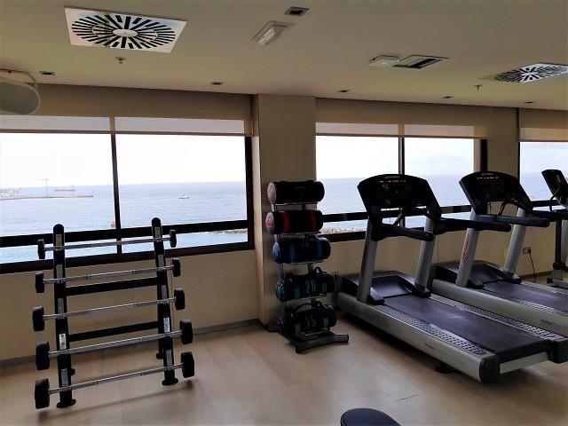 Fitnesraum im AC Hotel Iberia