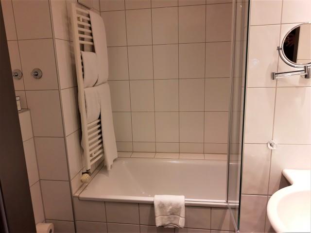 Badezimmer im Best Western