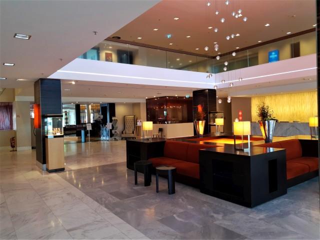 Foyer im Hilton