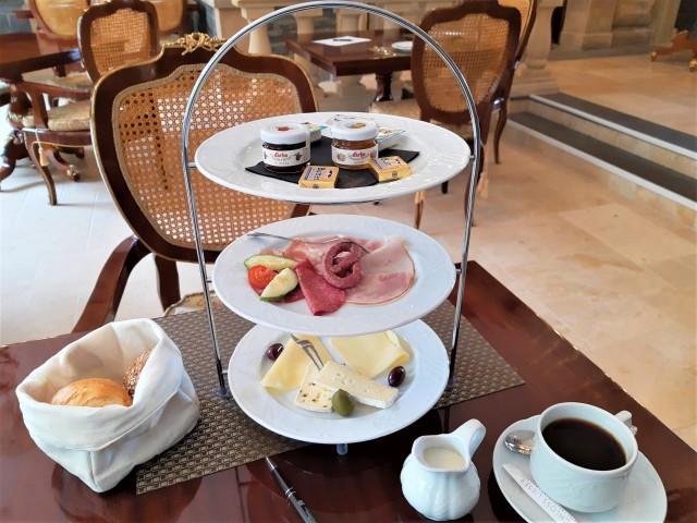Frühstück im Hotel Schloss Lieser