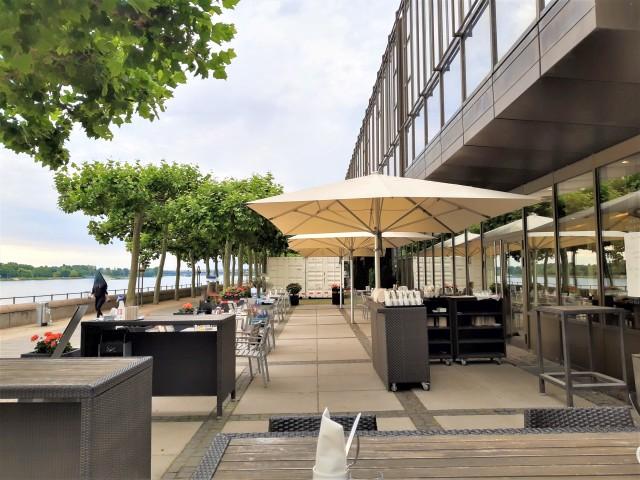 Terrasse Hilton Mainz