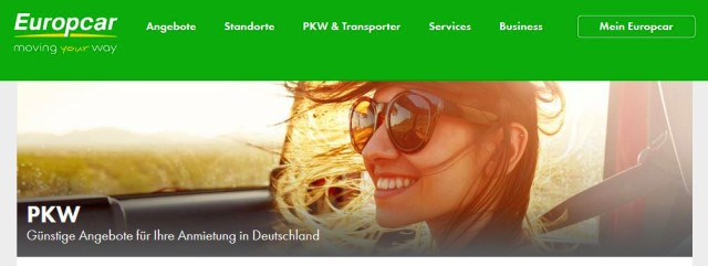 Amex Platinum bei Europcar