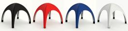 Farbkarte für aufblasbare Pavillons
