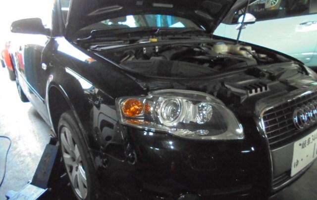 アウディA4 車検整備