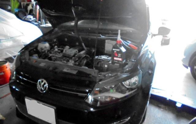 VWポロ DSGオイル交換