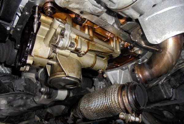 BMWミニ クーパーS オイル漏れ