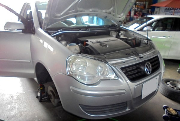 VWポロ 車検整備