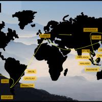 Itinéraire de mon Tour du Monde
