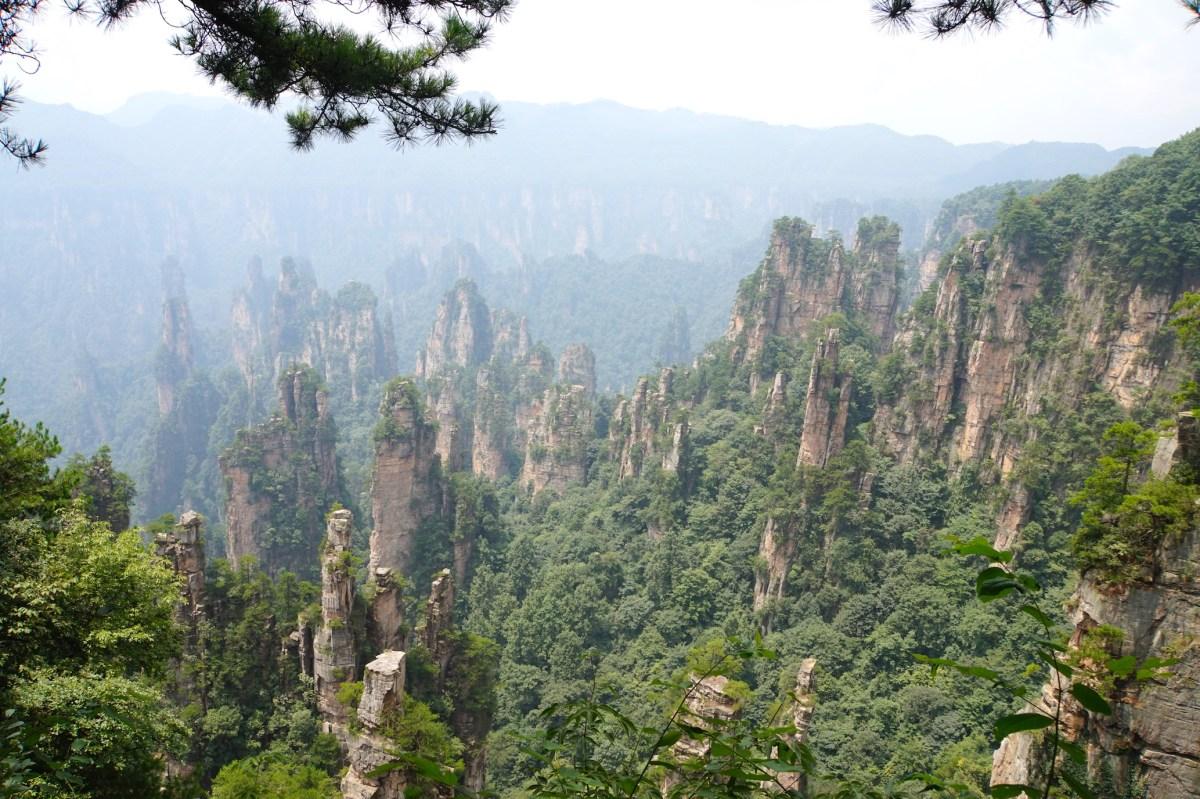 Zhangjiajie, le parc d'Avatar !