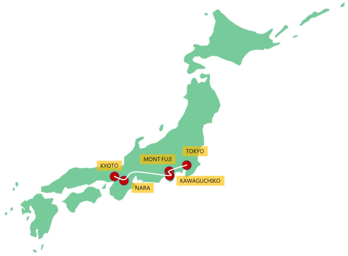 Japon : Itinéraire, Bilan & Budget