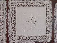 Royal Spanish Linen Handmade Embroidered Lace Tablecloth ...