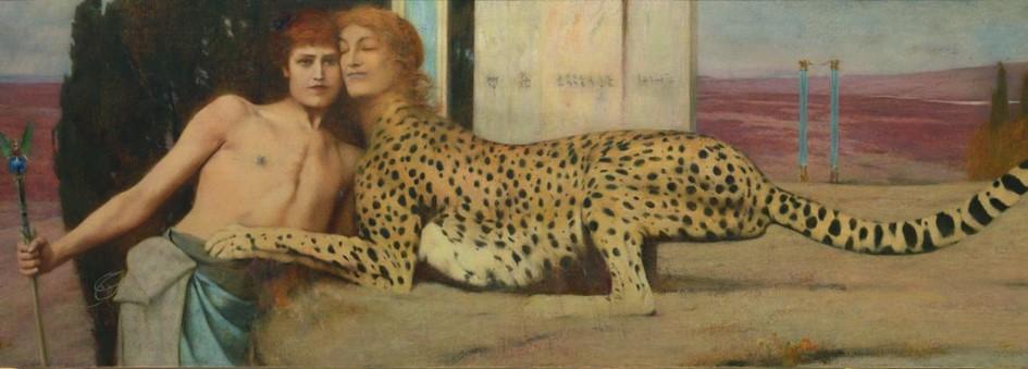 Exposition Fernand Khnopff Paris Petit Palais