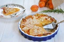 clafoutis abricot romarin