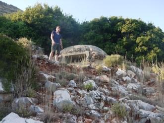 Bunker bei Himare