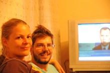 at Nikolays home