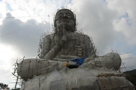 Buddha im Bau