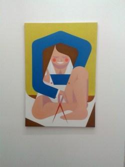 Architektin (work in progress) 2013 - 2015 | Öl auf Leinwand | 116 x 80 cm