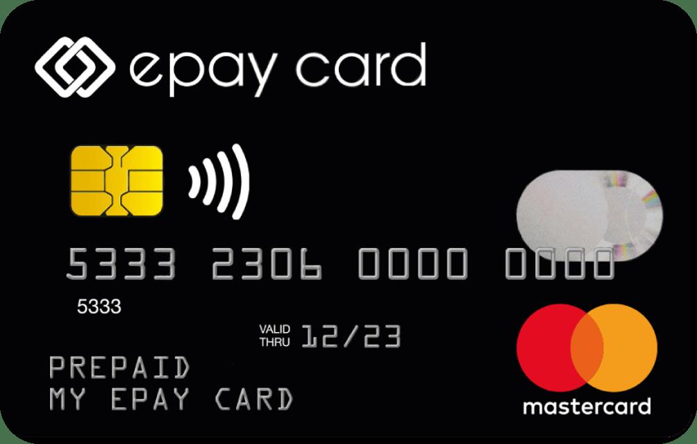 epay card Prepaid Mastercard bei Aufladecodes.de