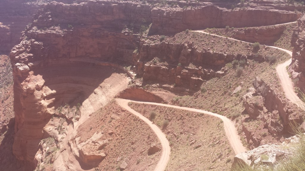 shafer trail switchbacks