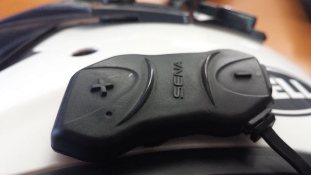 The Sena 10R reset button